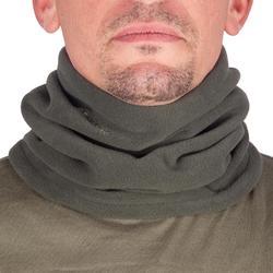Warme nekwarmer voor de jacht groen
