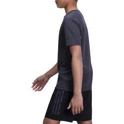 Fitness T-shirt jongens Climacool grijs - 1000714