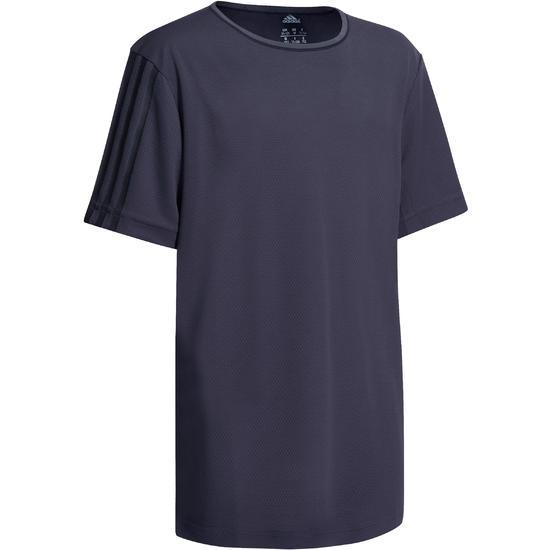Fitness T-shirt jongens Climacool grijs - 1000716