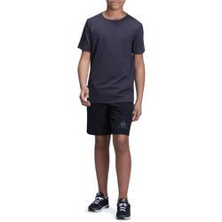 Fitness T-shirt jongens Climacool grijs - 1000717
