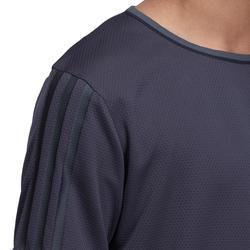 Fitness T-shirt jongens Climacool grijs - 1000718
