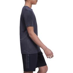 Fitness T-shirt jongens Climacool grijs - 1000721