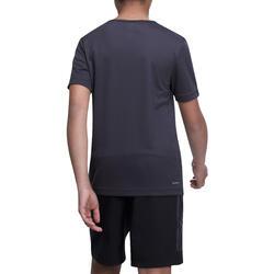 Fitness T-shirt jongens Climacool grijs - 1000723