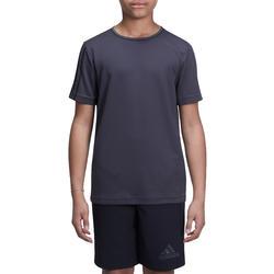 Fitness T-shirt jongens Climacool grijs - 1000724