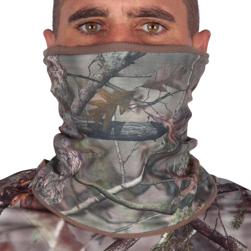 CACHE COU CHASSE CHAUD SILENCIEUX CAMOUFLAGE