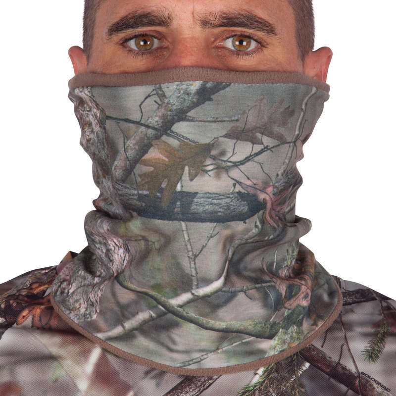 POSTED CAMOUFLAGE CLOTHING Shooting and Hunting - ACTIKAM-B WARM NECK GAITER SOLOGNAC - Hunting and Shooting Clothing