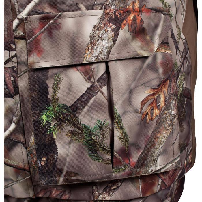 Veste chasse imperméable chaude 500 Actikam camouflage - 1000934