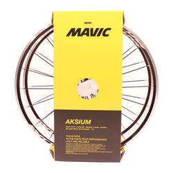 Aksium 700 Road Bike Wheels x2 - Black