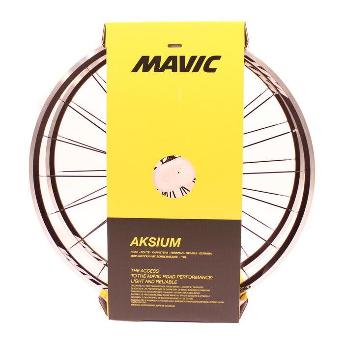 Rennrad-Laufradsatz 700 Mavic Aksium schwarz