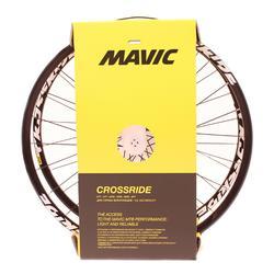 "MTB wielen 26"" Crossride schijf zwart per paar"