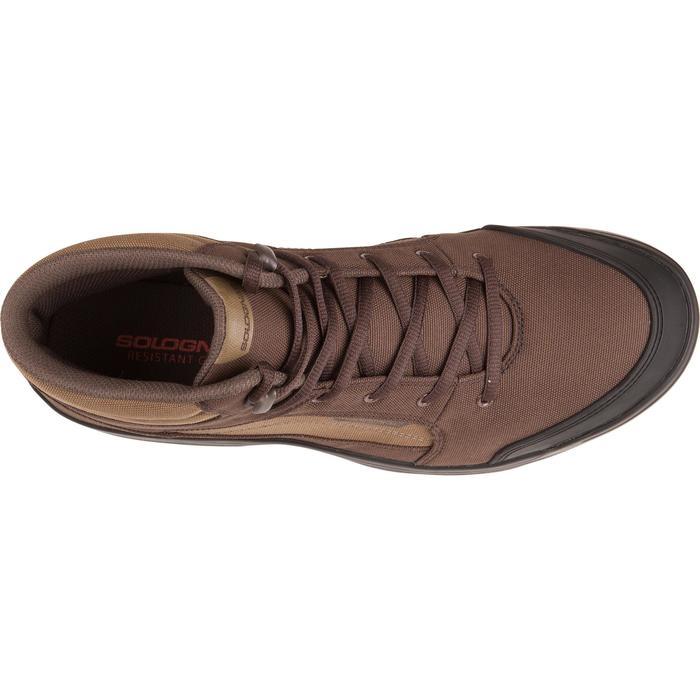 Chaussure chasse light 100 marron - 1001089