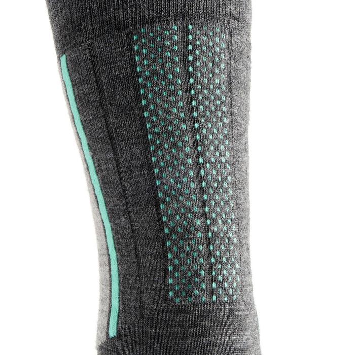 Chaussettes de randonnée neige adulte SH500 active chaudes - 1001163