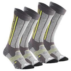 2 paar warme sokken Forclaz 900 Warm