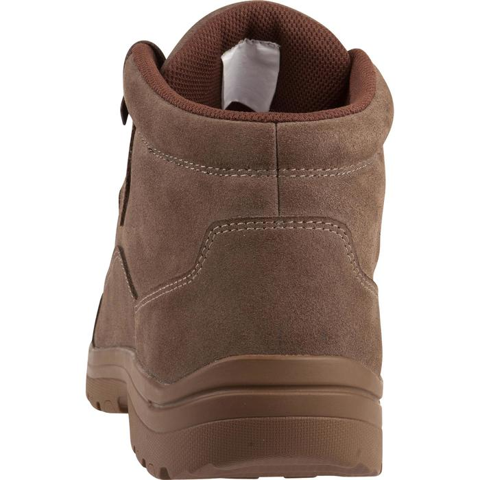 Chaussure chasse light 500 imperméable marron - 1001328