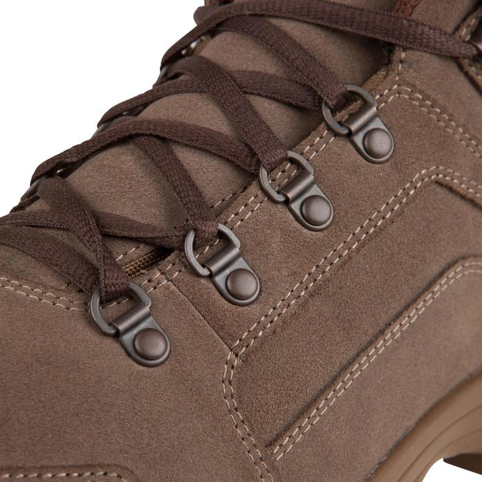 Botas caza light 500 impermeable marrón