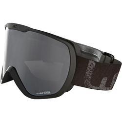 兒童與成人好天氣單/雙板滑雪護目鏡G500 - 亞洲黑