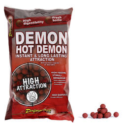 Lokaas karper Boilies Hot Demon 14 mm 1 kg