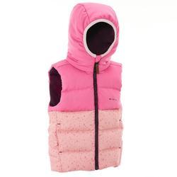 X-Warm 兒童登山舖棉背心 - 粉紅