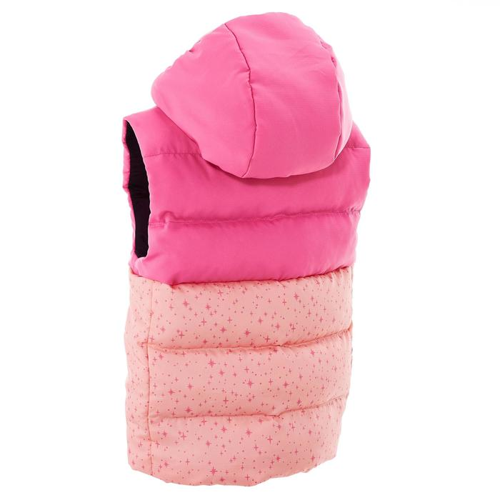 CN X-Warm Children's Hiking Padded Gilet - Pink