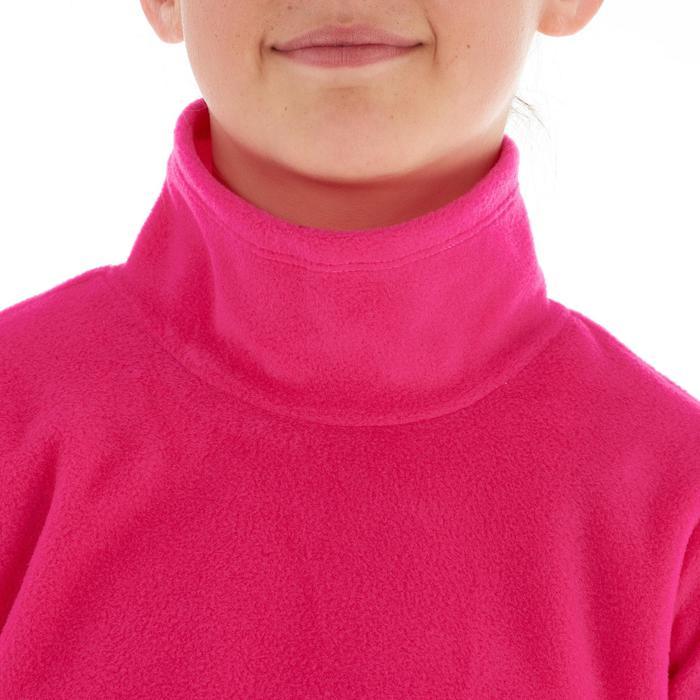 Meisjesfleece voor trekking Hike 50 roze