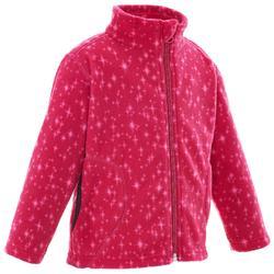 Fleece wandelvest voor kinderen MH150