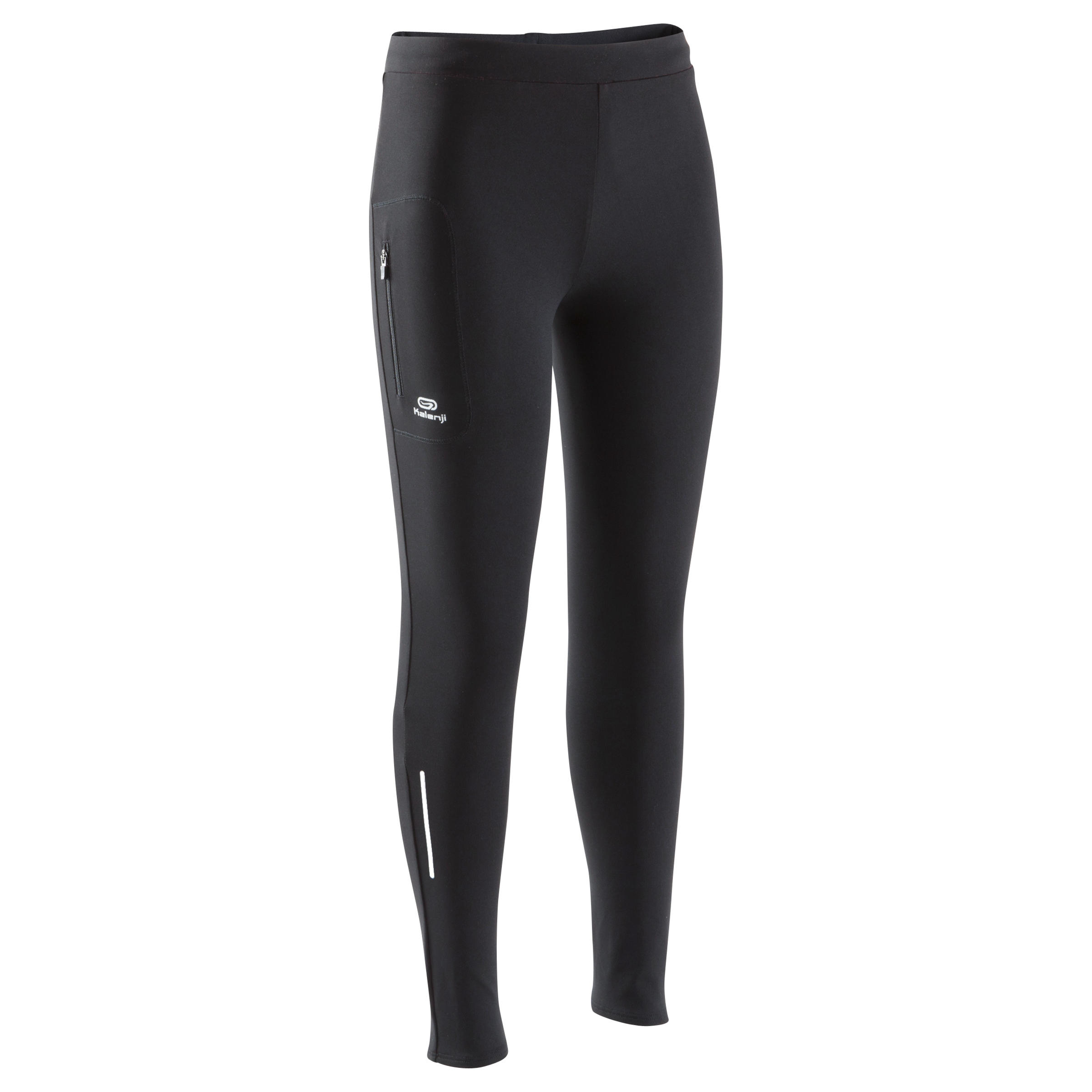 RUN DRY CHILDREN'S ATHLETICS TIGHTS BLACK