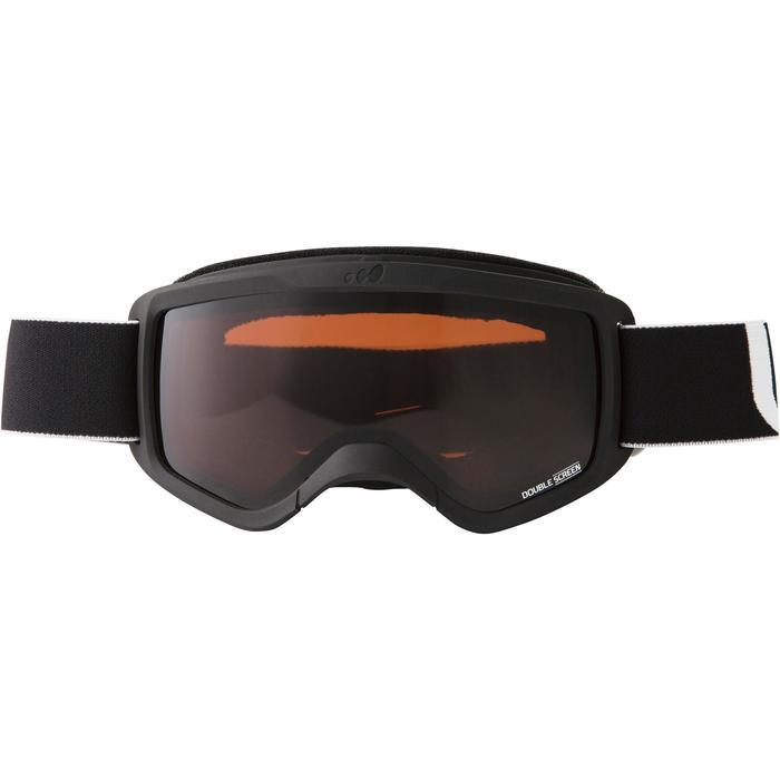 Ski- en snowboardbril Snow 300 bewolkt weer zwart - P - 1002719