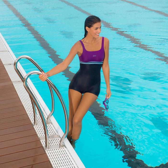 XBASE Swimming Goggles Size L - Black - 1002758