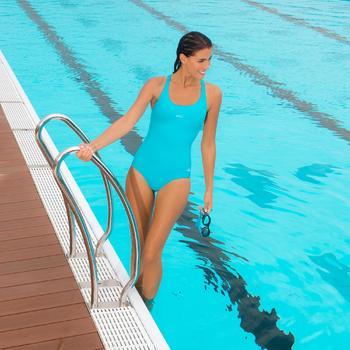 Maillot de bain de natation une pièce femme Leony + - 1002778