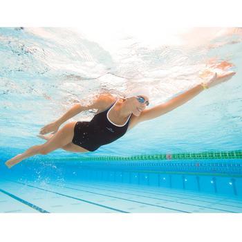 Lunettes de natation SUEDOISES jaune argent miroir - 1002779