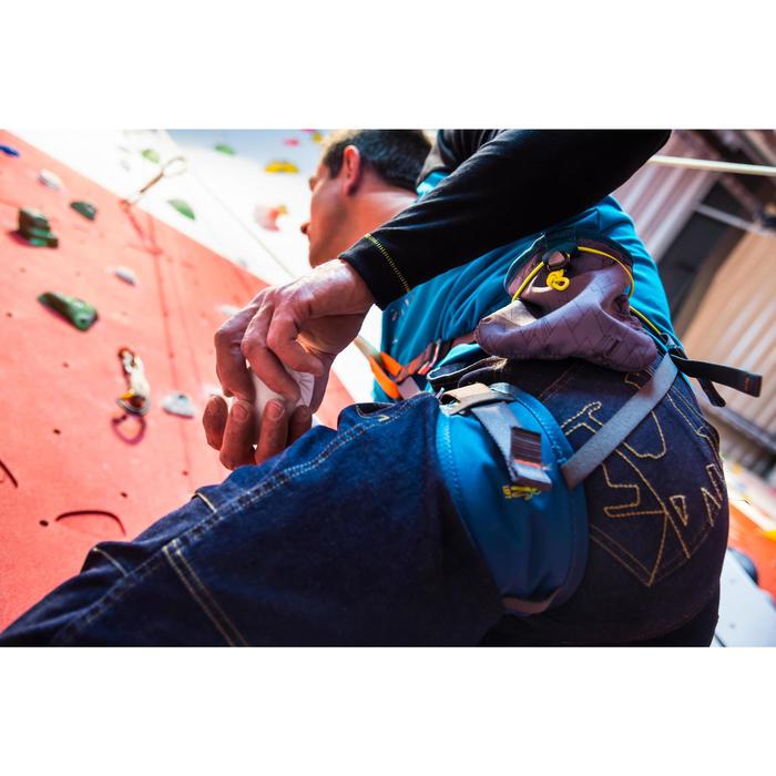 Magnesiumzak voor klimmen maat M grijs