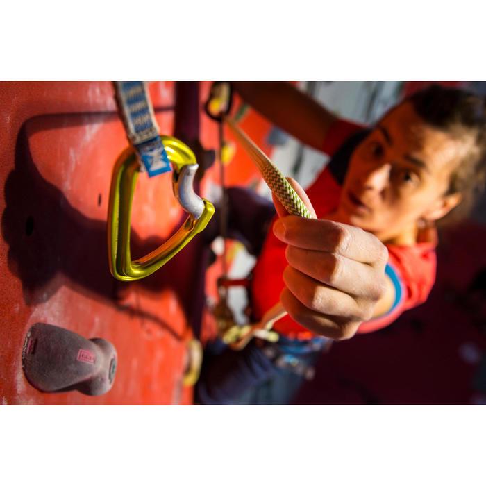 Corde d'escalade Indoor ROCK 10mm x 35m Verte - 1002805