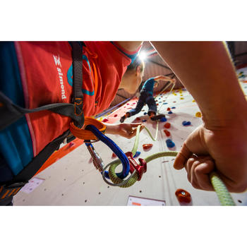 Corde d'escalade Indoor ROCK 10mm x 35m Verte