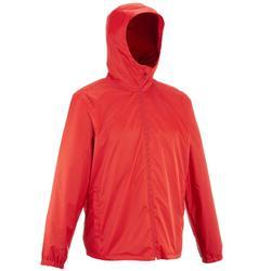 SH100 男士保暖雪地健行外套-紅