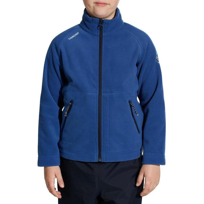 100 Kids' Sailing Fleece - Blue CN