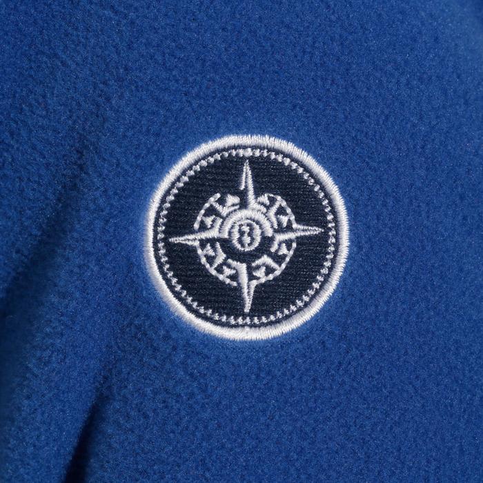 兒童款航海刷毛100-藍色