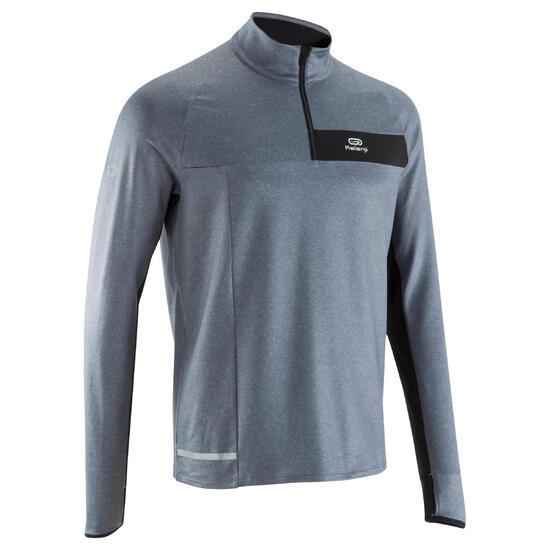 Loopshirt lange mouwen heren Run Warm+ - 1004553