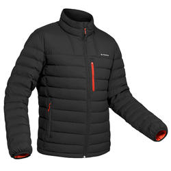 Men's Mountain trekking down jacket | TREK DOWN 500 - Black