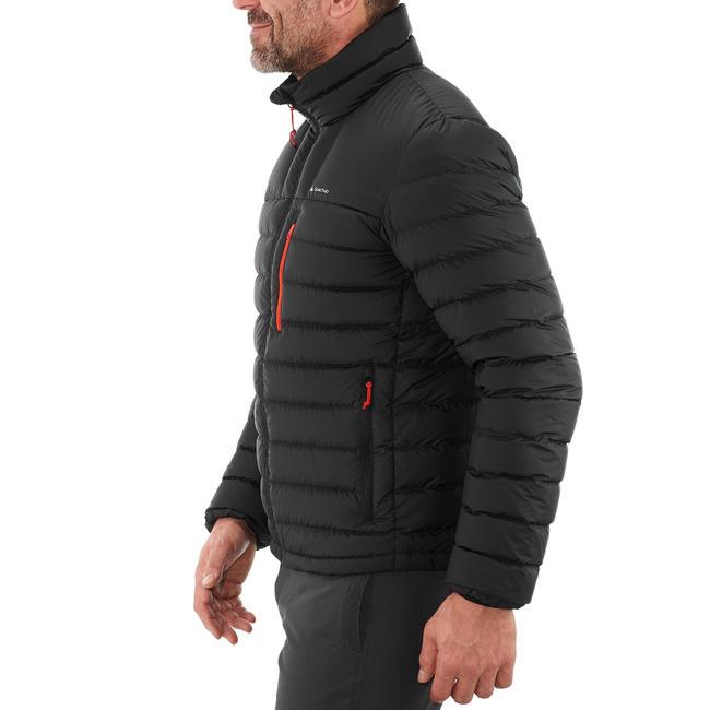 Men's Mountain Trekking Down Jacket Trek 500 - black