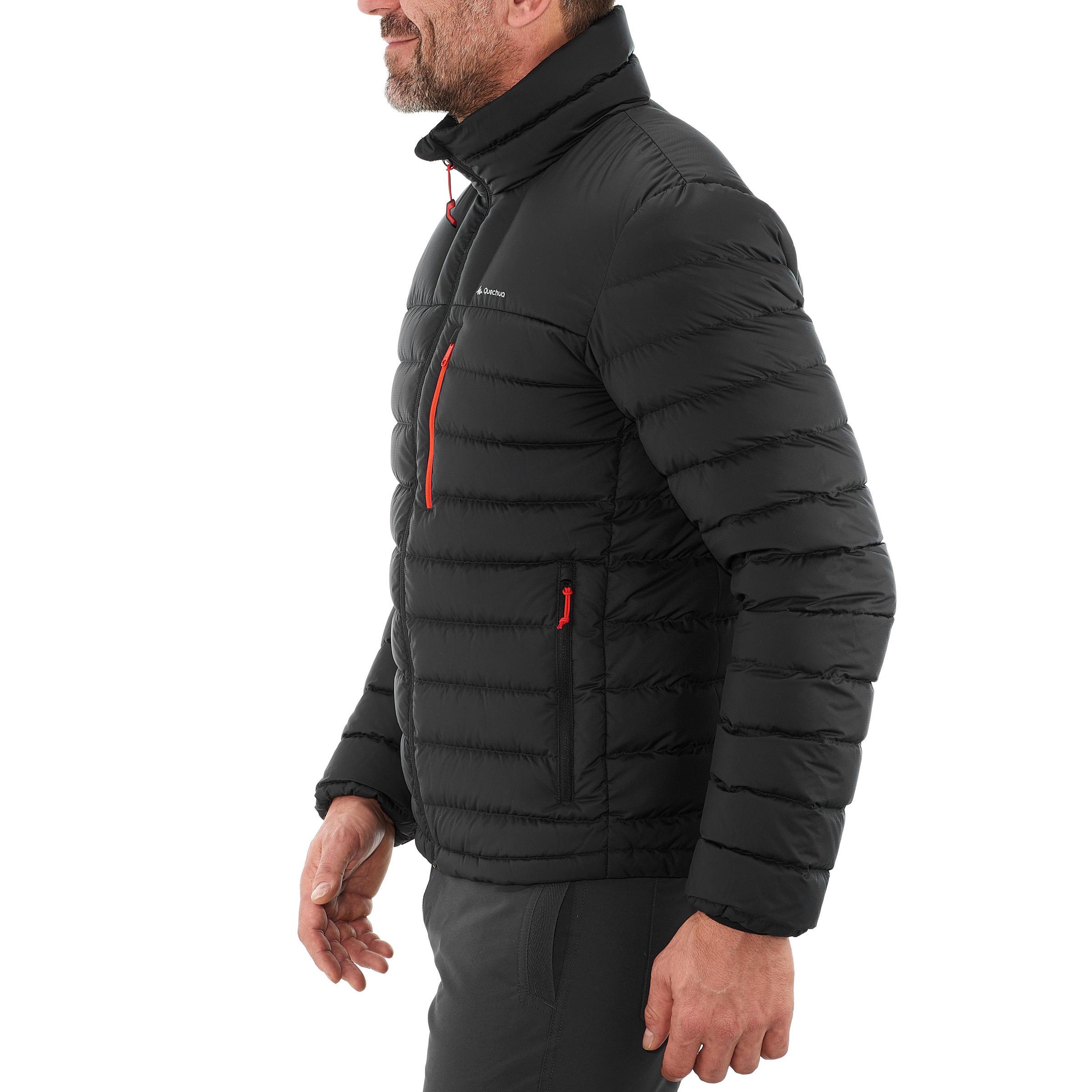 Trek900 Men's Mountain Trekking Down Jacket - Black