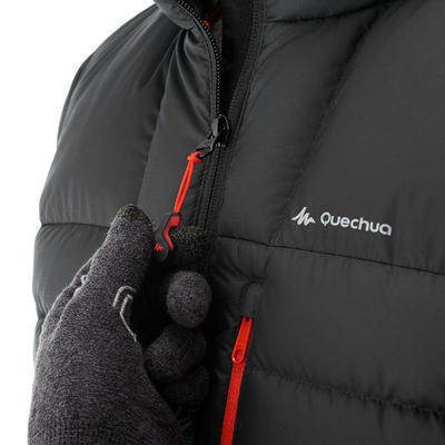 Men's Mountain Trekking Down Jacket Trek 500 - black