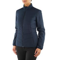 Wattierte Jacke NH100 Damen marineblau
