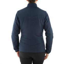 Gewatteerde damesjas voor natuurwandelen NH100 marineblauw