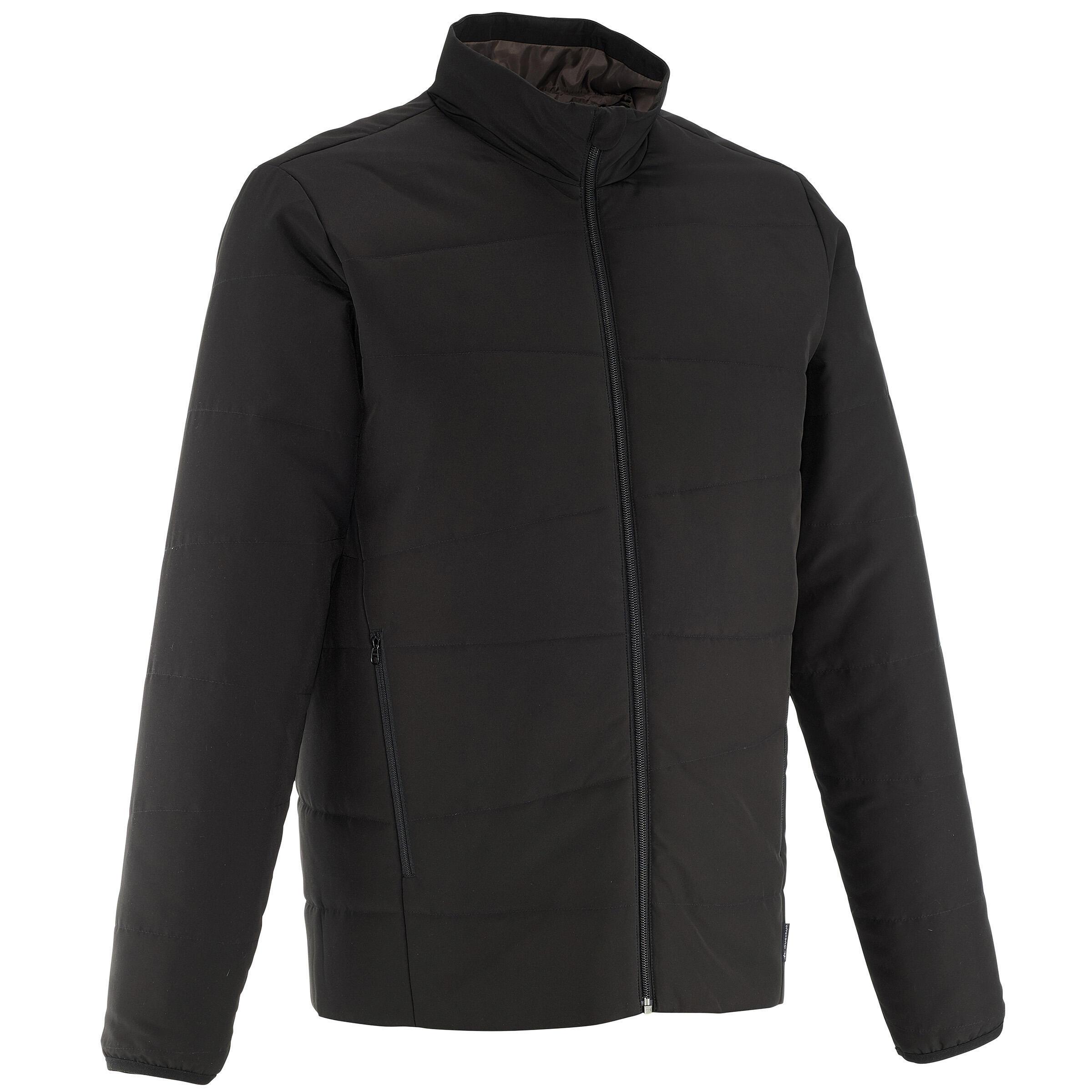 Men's Hiking Padded Jacket NH100 Black