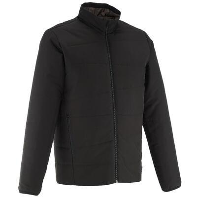 Men's Hiking Padded Jacket NH100 - Black