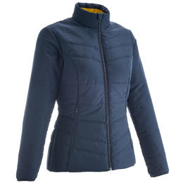 Women's Hiking Padded Jacket NH100 - Navy Blue