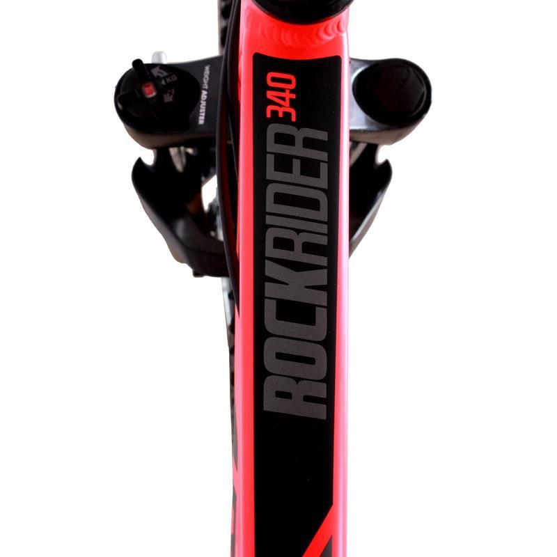 Btwin Rockrider 340 Orange MTB Cycle