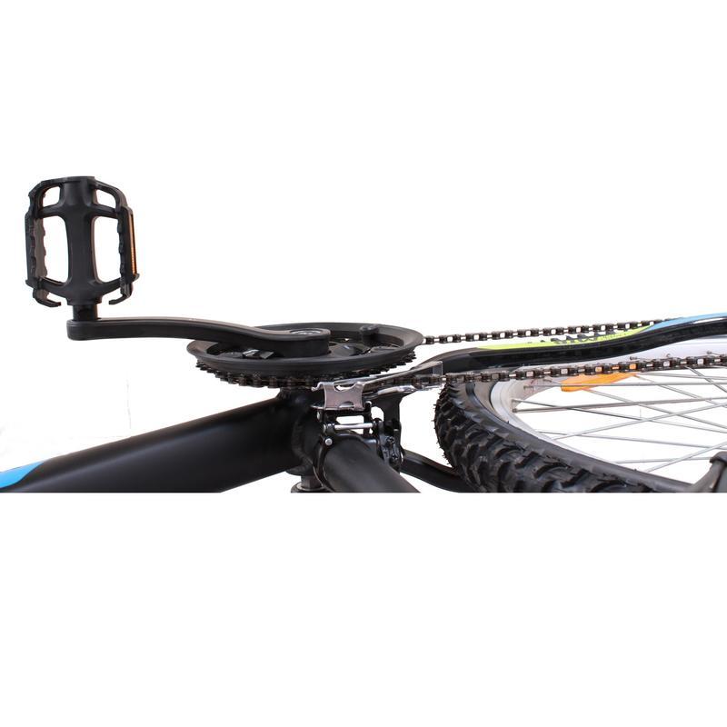 BTWIN ROCKRIDER 340 GREY YELLOW MTB CYCLE