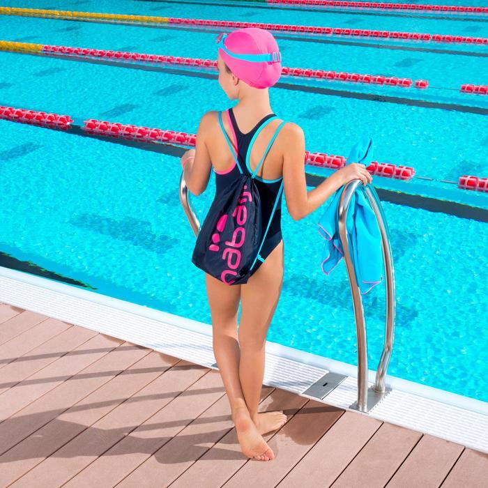 Kit natation fille 100 START : maillot de bain, lunettes, bonnet, serviette, sac