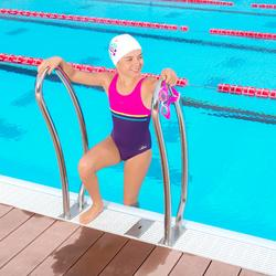 Badeanzug Loran Mädchen violett/rosa